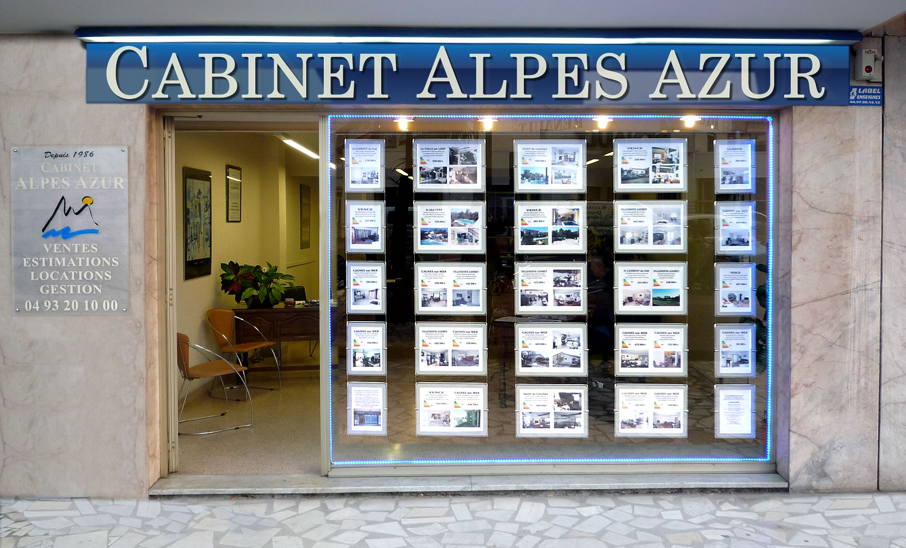 Photo 1 agence Alpes Azur